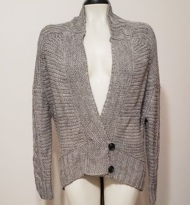 Ann Taylor LOFT alpaca wool blend cardigan  M